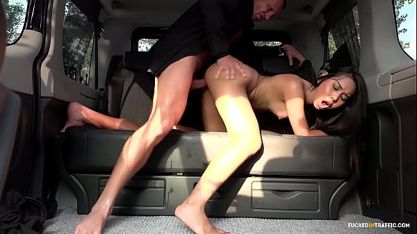 VIP SEX VAULT - Squirting Indonesian babe goes wild in hardcore car fuck