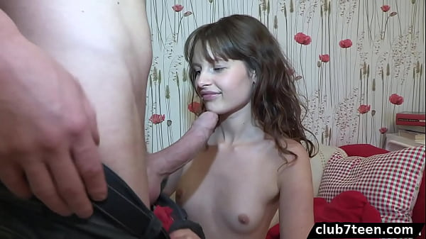 Teen Yulia shows her love for anal