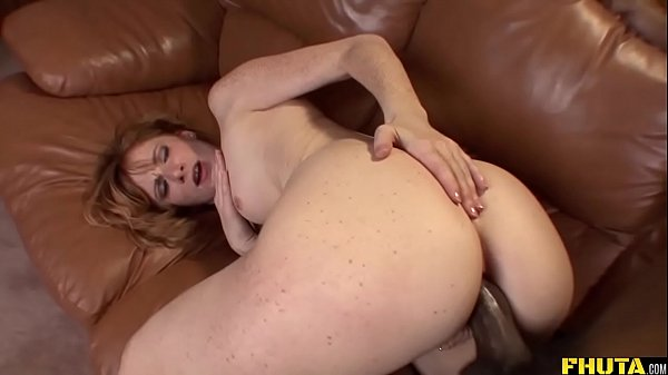 Freaky Redhead Stretched By BBC