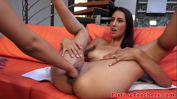 Fistfucking after oral pleasuring