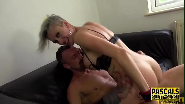 Inked up fetish goth milf with big boobs