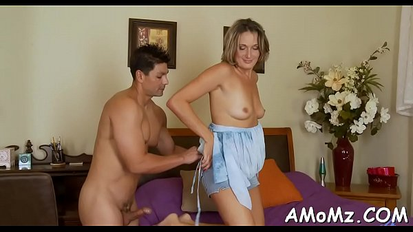 Hawt mom receives pleasure of cock