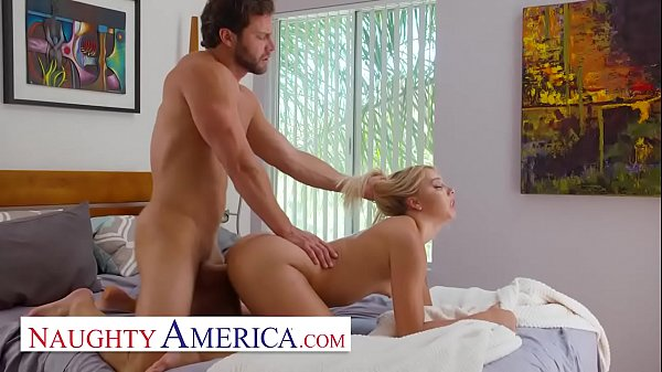 Naughty America Chanel Grey hooks up with her friends brother