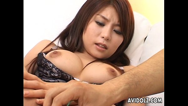 Asian bimbo getting her wet cunt toyed and fing...