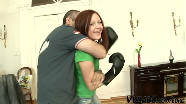 Redhead Step Sis Banged On The Fitness Equipment