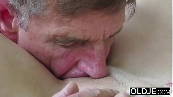 Old Young Porn Teen Blowjob Deepthroat and Cums...