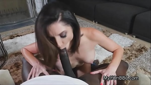 Busty house wife tries to take whole BBC