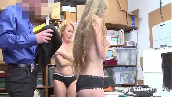 Shoplifter Mom And Daughter Fucked By Corrupt C...