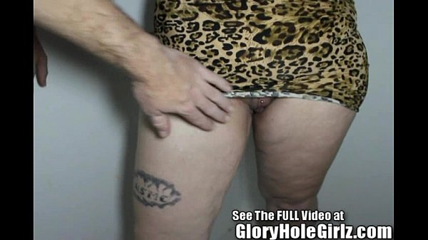 Molly Gives Us A Gloryhole Girlz Tribute