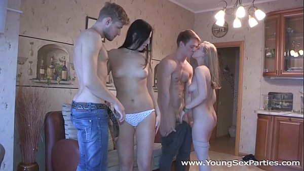 Teens  Alice C, Inga Zolva fuck in pairs and more Thumb