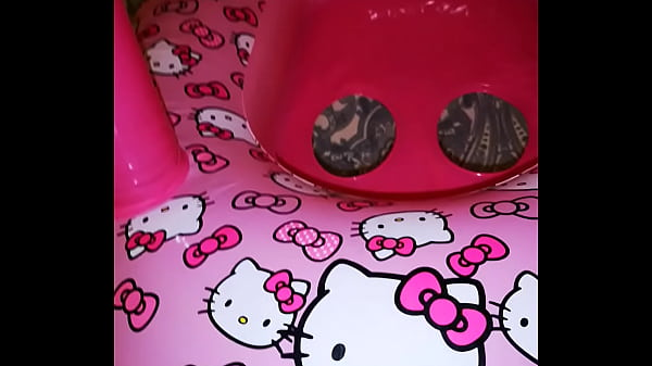 Inflatable Gonfiabile Hello Kitty Boat Canopy Vinyl Pvc Thumb