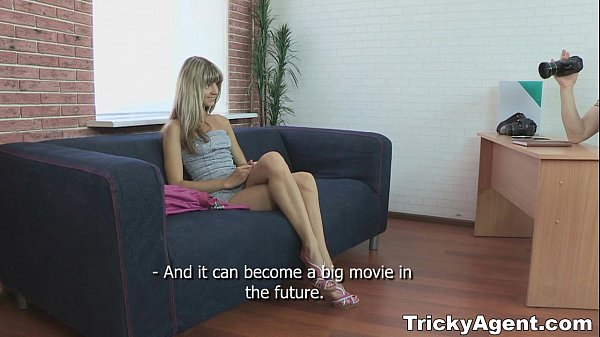 Tricky Agent - Fake blond girl Gina Gerson is hot and to fuck teen porn Thumb