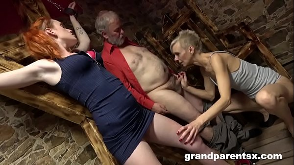 Grandparents Tie Up and Fuck 18 Year Old Au-Pair Thumb