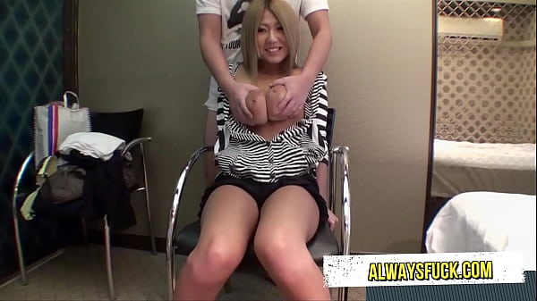 ASIAN girl with huge tits likes to fuck