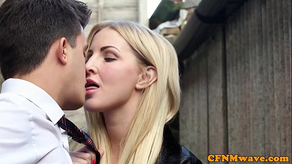 Femdom Chantelle Fox and pal bj action Thumb