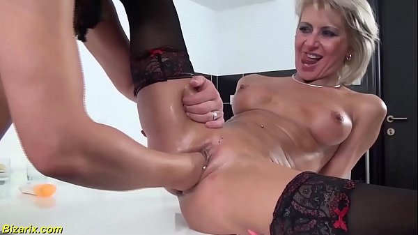 skinny milf extreme fisted and anal fucked