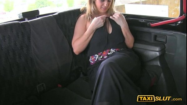 Busty whore Ashley ripped by the driver on the hood of a cab