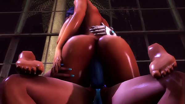 Futa Symmetra x Pharah-Bonus Strap On Version