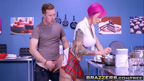 Brazzers - Big Tits at School - Anna Bell Peaks and Jessy Jones - Lets Bake A Titty Cake