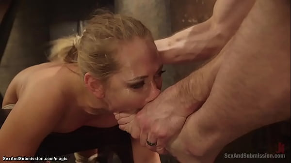 Married man rough fucks bound nanny