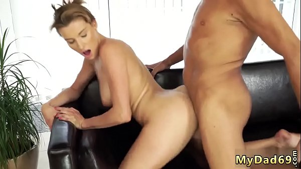 Teen rides big dick hd Sex with her boypatron´s father after