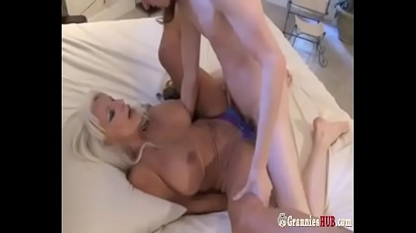 Hot GILF sexy Auntie Blonde A Young Nephew Boy To Fuck Her