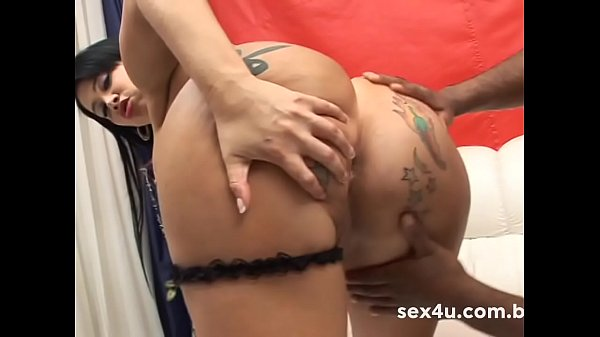 Anal complete with the biggest ass in Brazil. Soraya Carioca in anal with a giant black cock - Demo