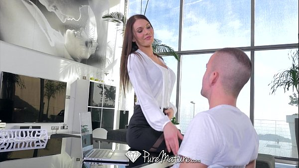 PureMature - Kitana Lure's pink pussy will make your cock hard Thumb