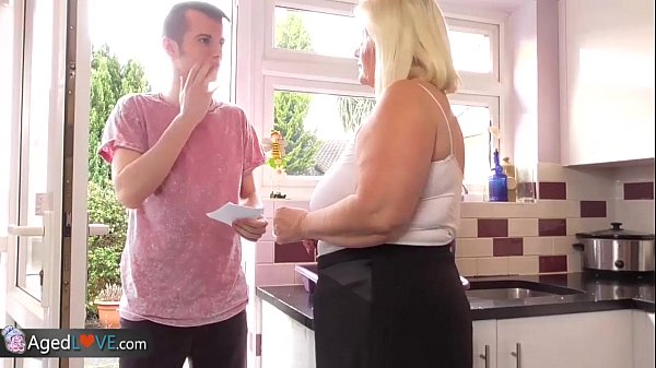 AgedLove Nice blonde granny is fucked by horny man  thumbnail