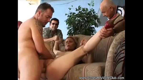 Swinger Wife Fucks As Husband Watches
