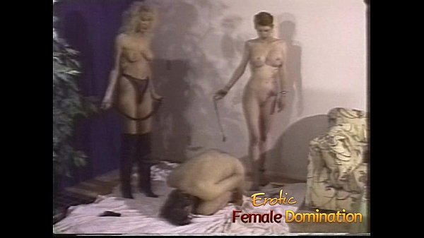 Busty mistresses give their slave a really hard painful time-6