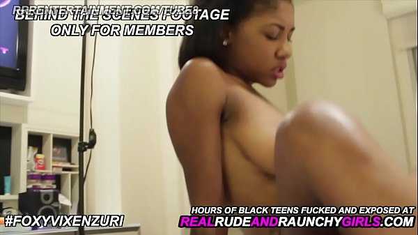 Pretty Black Girl Does Her First Time Video For...
