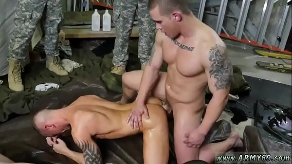 Military men penis  and soldiers fuck gay Fight Club