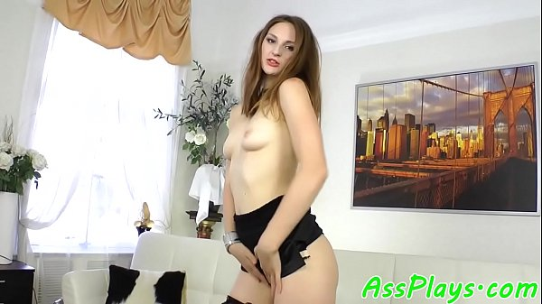 Amateur babe assfucked on all fours  thumbnail