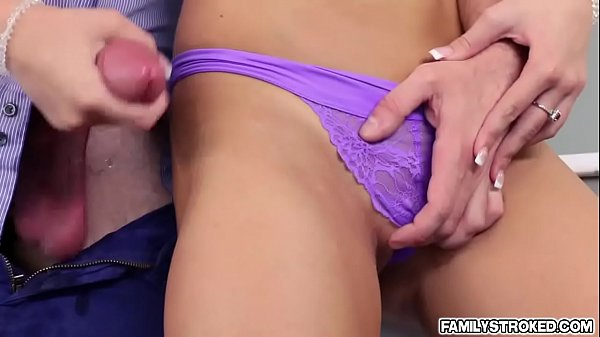 Tiffany wants a snack kyle's big cock