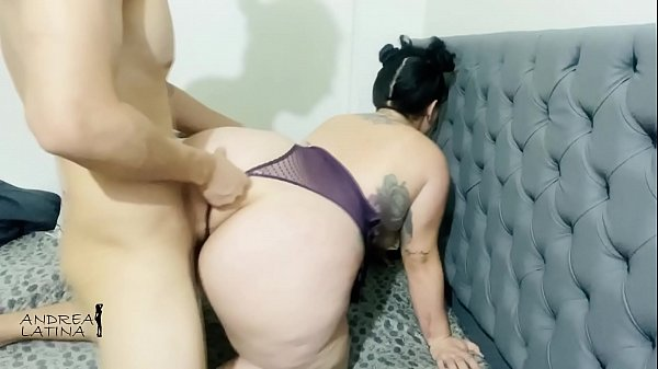 I stay alone with my aunt on Halloween and I cum on her buttocks