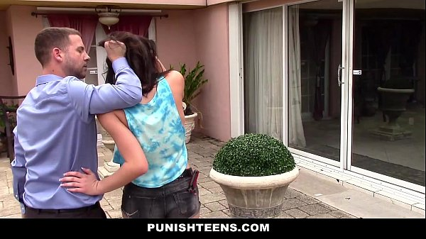 PunishTeens - Sneaky Teen (Kimberlee Anne) Fuck...