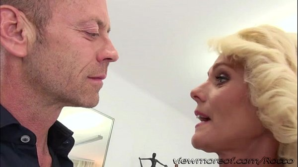 Lovely Euro blonde MILF Dyana gets pounded hard by Rocco