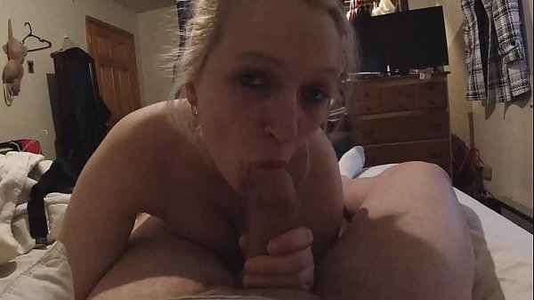 Sexy busty girl loves sucking your cock. Sexy ...