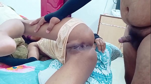 Indian anal struggle and pussy Creampie