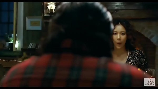 Sexy Korean Kim si-woon is happy in the movie I saw the devil