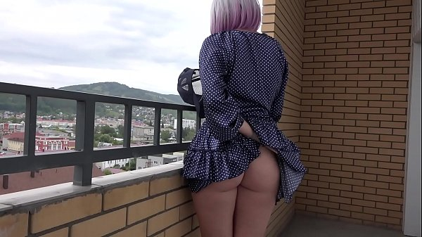 Spying under a skirt. A blonde with a juicy PAWG and hairy pussy loves to go without panties. Amateur fetish.