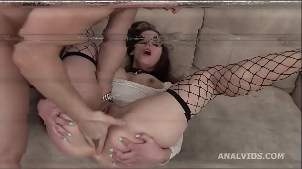 Mr. Anderson's Anal Casting turns Wet with Foxy Slave Welcome to Porn with Balls Deep Anal, Pee, Gapes and Cum in Mouth GL353