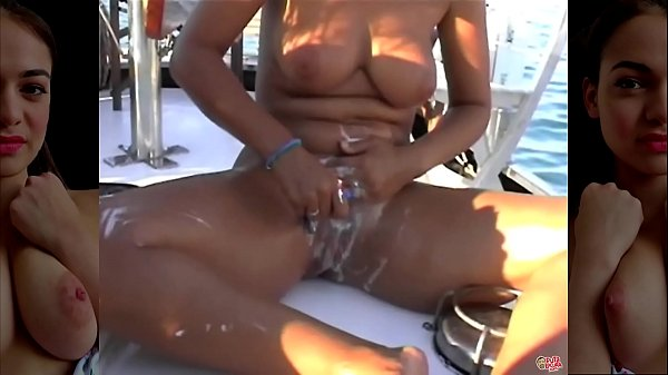 Fucking on the yacht with three friends Thumb