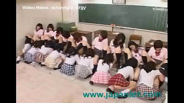Classroom Full of Students Have Giant Orgy