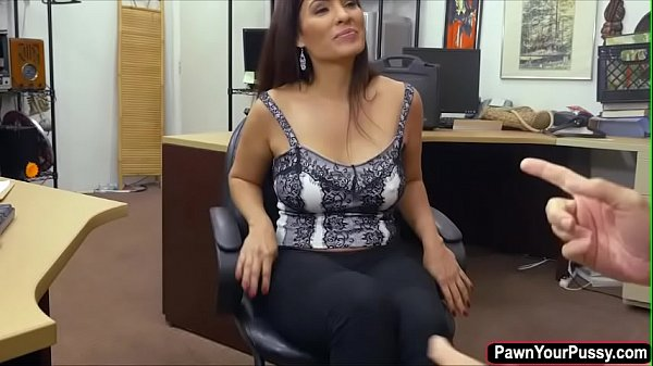 Milf desperate for cash and gets fucked