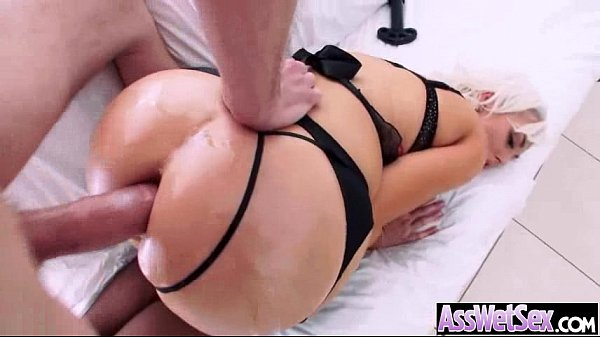 Big Oiled Wet Butt Girl Get Nailed Deep In Her Ass clip-11 Thumb