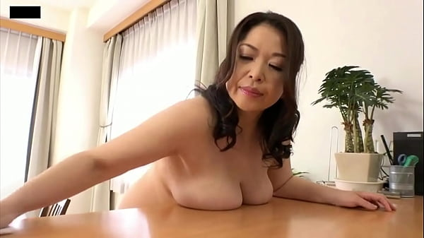 Dusting by Naked Asian with Big Boobs