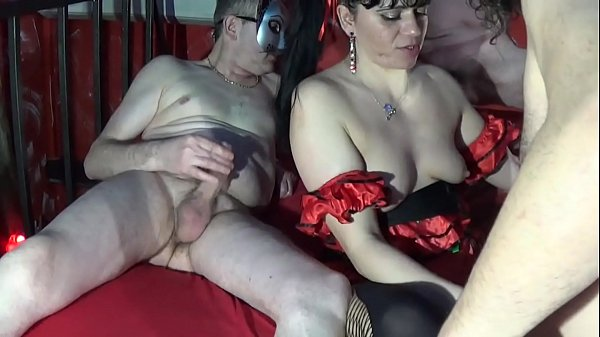 Orgy at the Prive ' with Sexy Horny Brunette Thumb