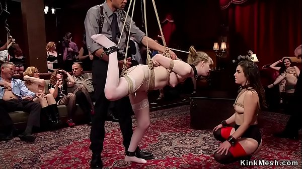 Slaves spanked and banged bdsm orgy Thumb